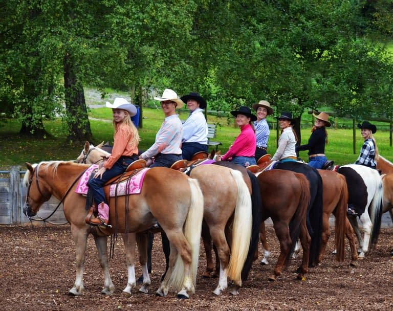 Horsemanship Weekend, Reitkurs Birkenhof Bachs